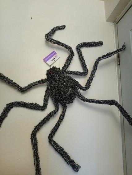 Halloween Decoracion Araña Gigante 1.17m