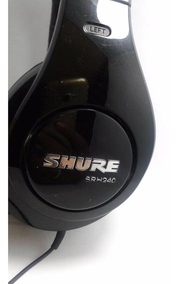 Fone Shure Dj Profissional Srh240 A
