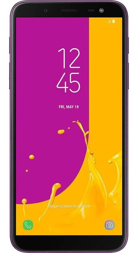 Imagem 1 de 4 de Celular Samsung Galaxy J6 64gb Usado Seminovo Muito Bom