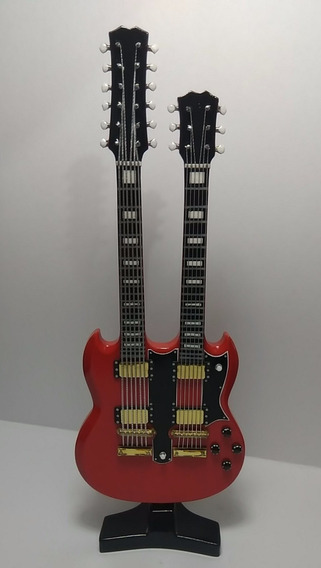 Guitarras Eléctricas En Miniatura Doble Mástil
