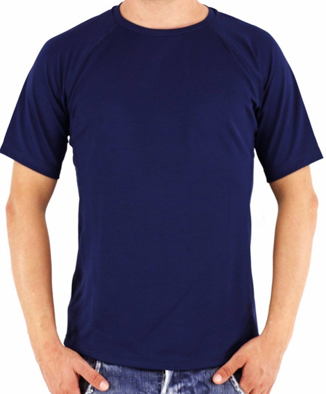 Camisa Camiseta Com Manga Adulto P M G Gg Várias Cores