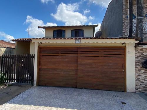 Casa No Litoral Com 3 Quartos, Churrasqueira - Ca289-f Lc