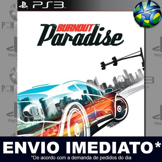 Burnout Paradise Ps3 Psn Jogo Em Promoção A Pronta Entrega
