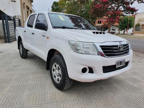 Toyota Hilux 2.5 4x2 Dx Tdi Pack Blanca 2012 188.000 Km Roas