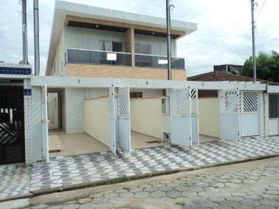 Casa Com 3 Dorms, Esplanada Dos Barreiros, São Vicente - R$ 285 Mil, Cod: 709 - V709