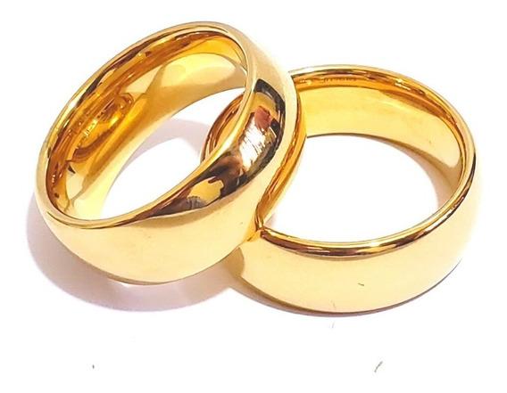 Unidade Aliança 8mm Casamento Noivado Cor Ouro Moedas Antiga