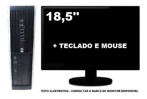 Computador Hp 6005 Athlon Ll 4gb 120gb Ssd - Seminovo