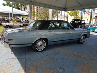 Ford Landau 81/82 Azul Germini Restaurado