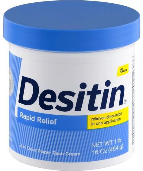 Pomada Desitin Pote Azul Rapid Relief 454g Venc 07/2020