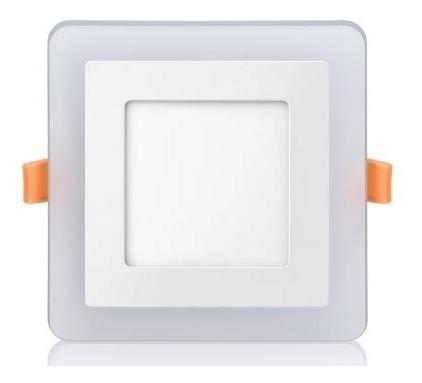 Luminária Quadrada Embutir Led 3 Estágios 6500k 6 + 3w Elgin