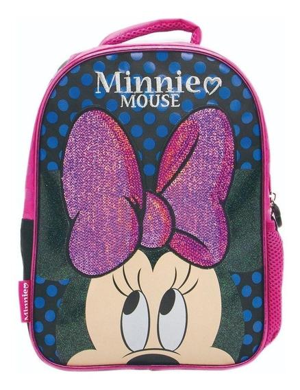 Mochila Minnie Disney Km060 12 Pulgadas Jardin Cresko