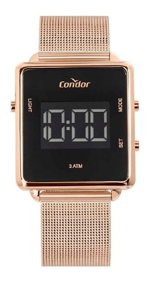 Relógio Condor Feminino Digital Cobjf156ac/4j Rose Lançamento