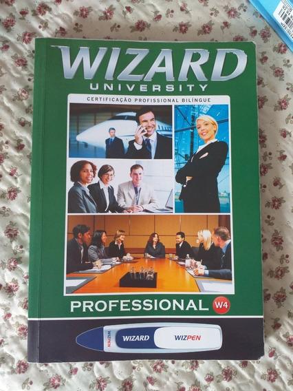 Livro Inglês Wizard W4