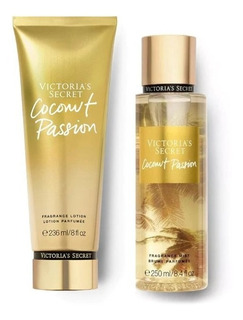 Perfume Set Coconut Passion By Victoria´s Secret Para Mujer