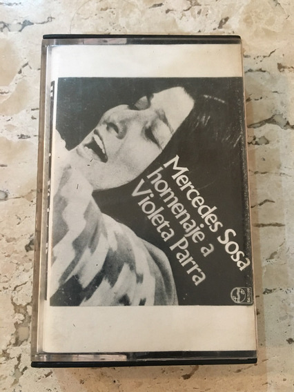 Fita Cassete Mercedes Sosa - Homenaje A Violeta Parra