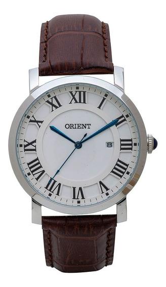 Relógio Orient De Couro Mbsc1035 S3nx
