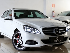 Mercedes-benz E250 2.0 Avantgarde Turbo 4p 2015/2016