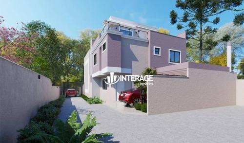 Imagem 1 de 6 de Sobrado Com 3 Dormitórios À Venda, 134 M² Por R$ 674.900,00 - Santa Felicidade - Curitiba/pr - So0285