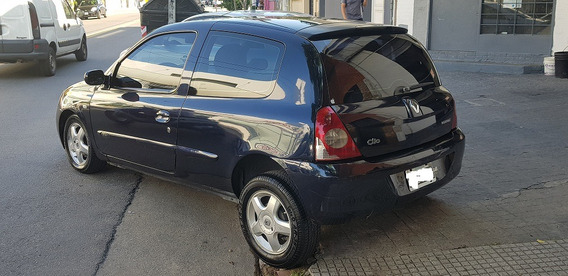 Renault Clio 1.6 Sl Sportway Pack Plus Azul 2009