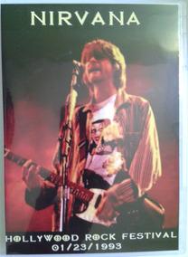 Dvd Nirvana Hollywood Rock Festival Rio De Janeiro 1993