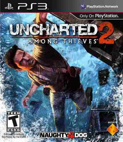 Uncharted 2 Among Thieves - Ps3 ( Novo - Não Lacrado ).