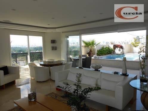 Cobertura Residencial À Venda, Moema, São Paulo - Co0081. - Co0081