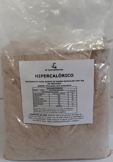 Hipercalórico 2 Kg Matéria-prima De Qualidade