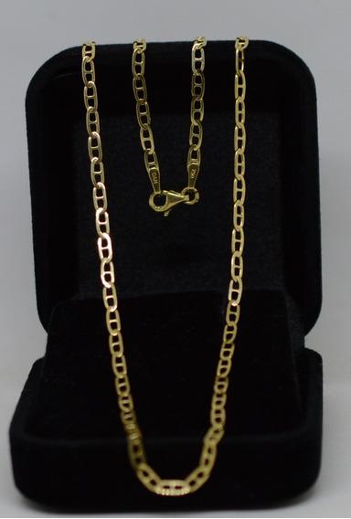 Corrente Maciça Piastrine Gucci Ouro 18k 750 66 Cm 2,40 Mm