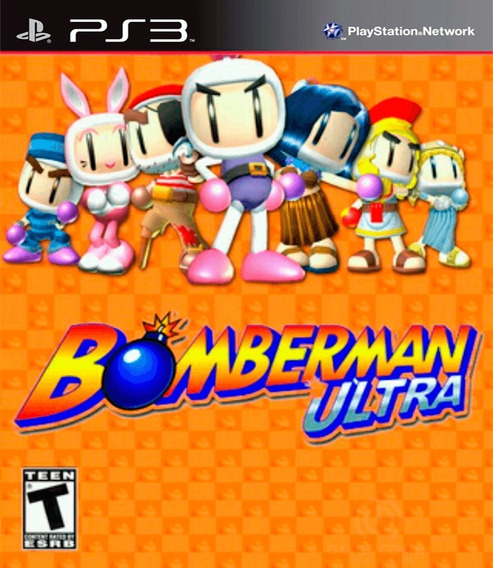 Bomberman Ultra Ps3 Jogo Play 3 Em Promoção Buy