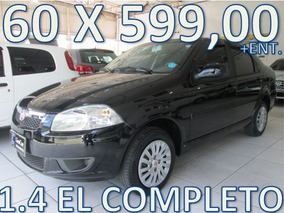 Fiat Siena 1.4 El Flex Completo Entrada + 60 X 599,00 Fixas