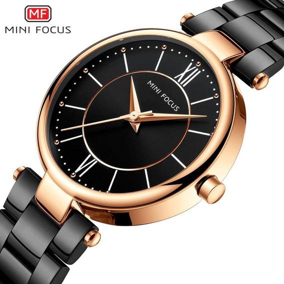 Relógio Feminino Mini Focus Original Luxo C/ Caixa