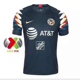 Nuevo Jersey Nike De America 2019-2020 + Parche Liga Mx