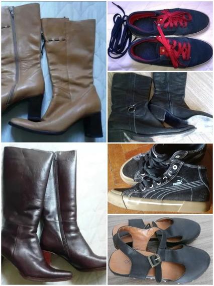 Lote Zapatillas Zapatos Y Botas