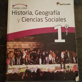 Texto Historia 1º Medio Proyecto Puentes Del Saber $10.000