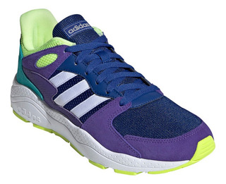 Zapatilla adidas Crazychaos Violeta Verde Hombre Rcdmr