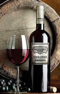 Vinho Chileno La Moneda Malbec Reserva Garrafa De 750ml