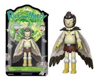 Rick Morty Set 3 Unidades Mega Promo Bird Meeseeks Poopy
