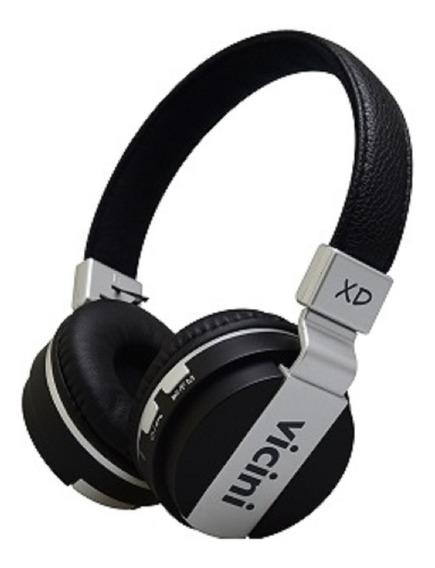 Fone De Ouvido Bluetooth Headphone Sem Fio Dobrável - Vicini