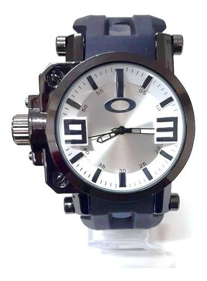 Relógio Preto Masculino Oakley Titanium Sem Caixa - Barato