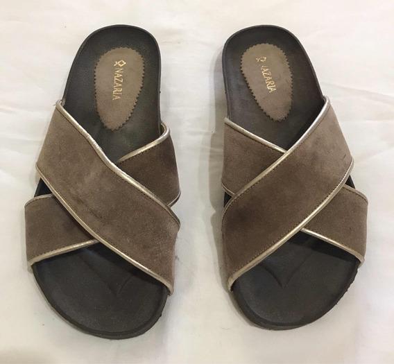 Sandalias Cruzadas Nazaria Talle 38