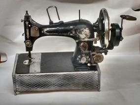 Máquina De Costura Á Manivela Antiga Herm Stoltz 1900