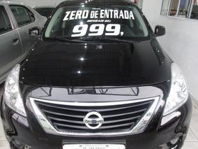 Nissan Versa Flex Zero De Entrada + 60 X 999,00 Fixas