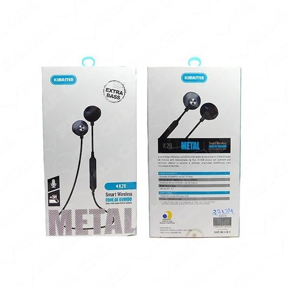 K28-fone De Ouvido Auricular Bluetooth