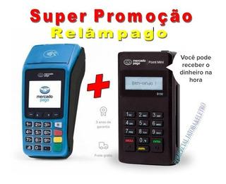 Maquininha Point Pro + Point Mini A Maquinha Do Mercado Pago