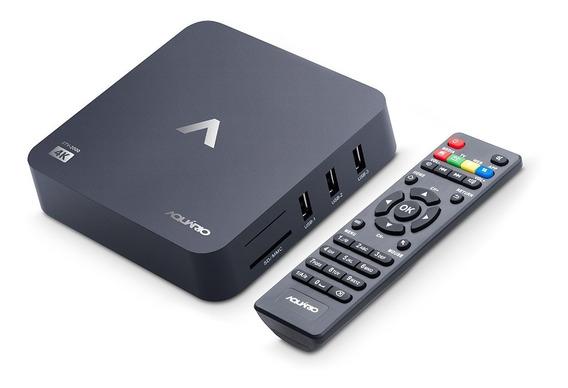Smart Tv Box Com Resolução 4k Entrada Hdmi E Android 7.1.2