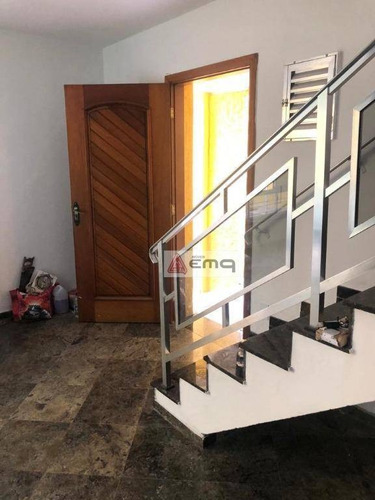 Sobrado Com 4 Dormitórios Para Alugar, 180 M² Por R$ 3.800/mês - Santana - São Paulo/sp - So0217