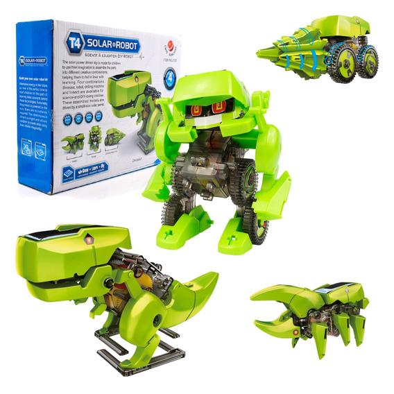 Brinquedo Educativo Energia Solar Diy Tipo Lego De Montar