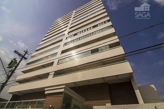 Apartamento À Venda, 101 M² Por R$ 398.000,00 - Vila Guilhermina - Praia Grande/sp - Ap1403