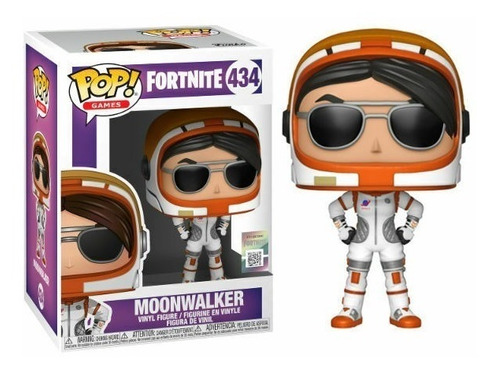 Funko Pop Fortnite Moonwalker 434 Games Figura Original Edu