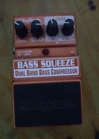 Pedal Digitech Bass Squeeze Dual Band Compressor